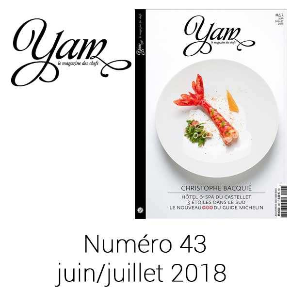 French magazine about cuisine - YAM n°43