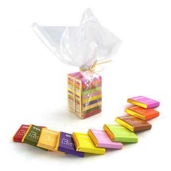 Chocolats François Pralus - La mini pyramide des Tropiques - Pralus