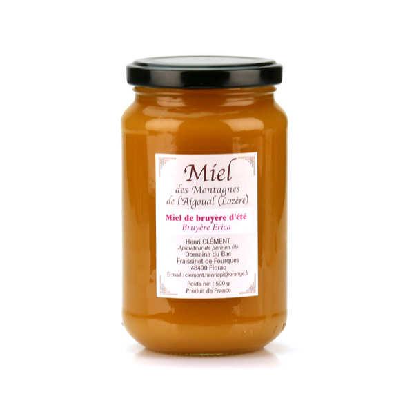 Miel de bruyère d'été des montagnes de l'Aigoual (Lozère)