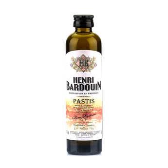 Distillerie Merlet - Sample bottle of Henri Bardouin Pastis 45%