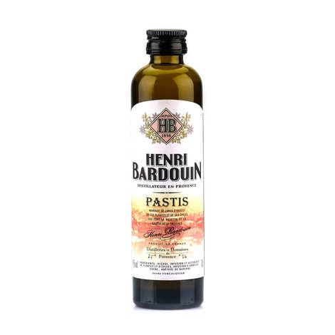 Distilleries et Domaines de Provence - Mignonnette de Pastis Henri Bardouin 10cl