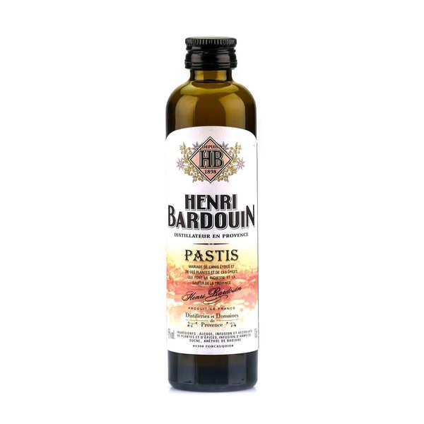Sample bottle of Henri Bardouin Pastis 45%