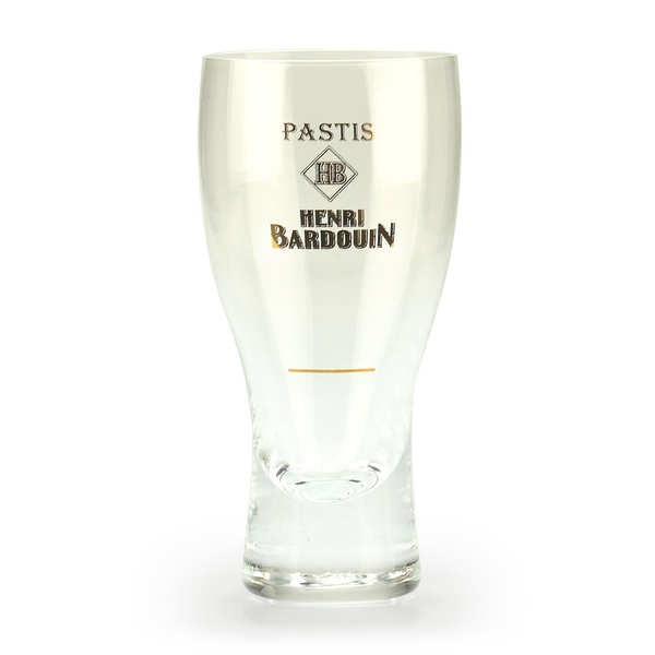 Henri Bardouin Pastis Glass