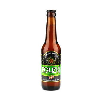 La brasserie du pays basque - Eguzki blonde - bière du Pays basque 5.5%