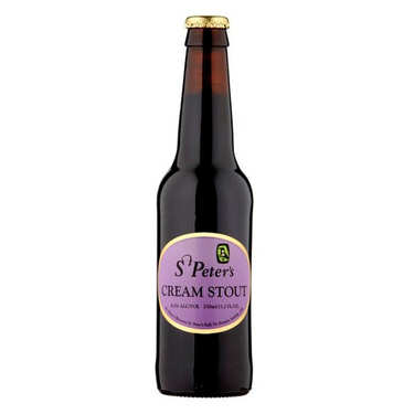 UK Blended beer - St Peter's Cream Stout  6.5%