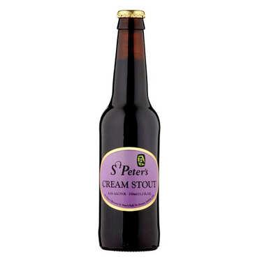 UK Blended beer - St Peter's Cream Stout  6.5%