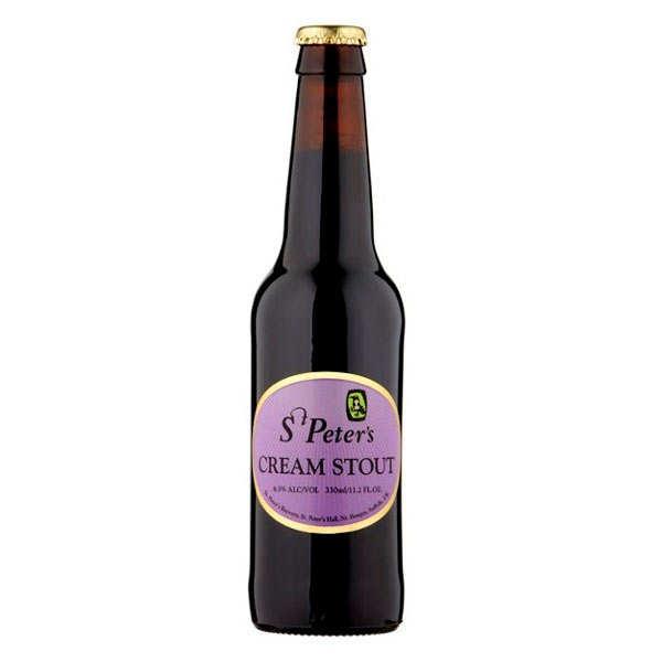 Bière St Peter's cream stout du Royaume-Uni 6.5%