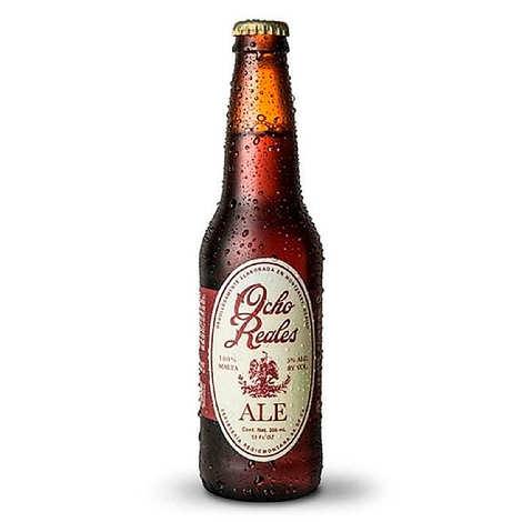 Ocho Reales - Bière Ocho Reales ale du Mexique 5%
