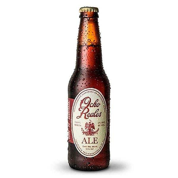 Bière Ocho Reales ale du Mexique 5%