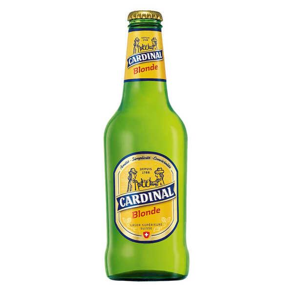Bière Cardinal blonde de Suisse 4.8%