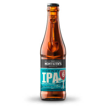Monteith's - Monteith's Highway ipa, bière de Nouvelle-Zélande 5.4%