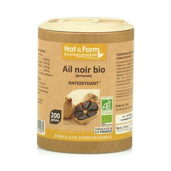 Nat&Form - Ail noir bio (fermenté) - 200 gélules de 445mg