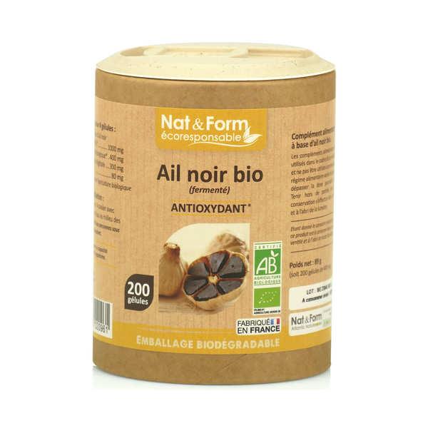 Ail noir bio (fermenté) - 200 gélules de 445mg