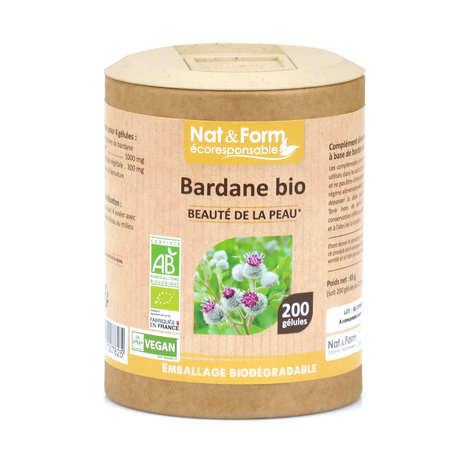 Nat&Form - Organic Burdock - 200 Capsules of 325mg
