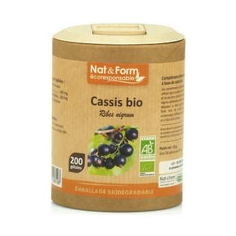 Nat&Form - Cassis bio - 200 gélules de 315mg