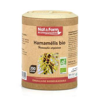 Nat&Form - Hamamelis bio - 200 gélules de 295mg