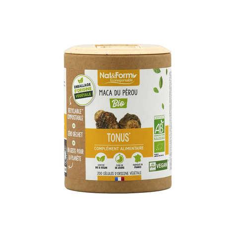 Nat&Form - Maca bio - 200 gélules de 425mg