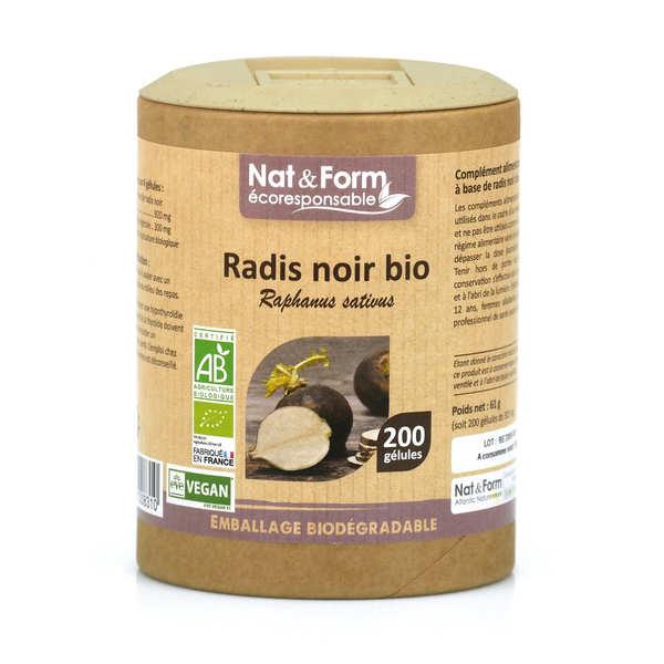 Organic Black Radish - 200 Capsules of 305mg