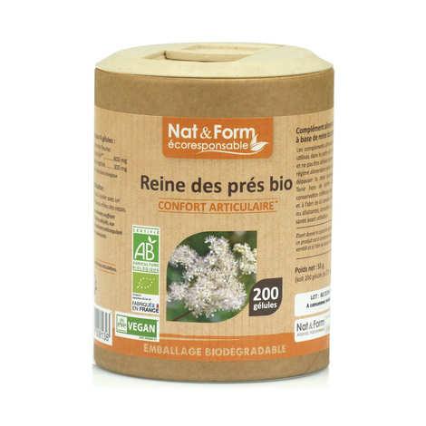 Nat&Form - Reine de prés bio - 200 gélules de 275mg