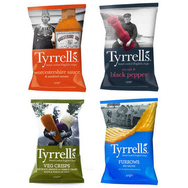 Tyrrells english crisps discovery offer