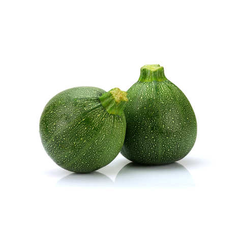 - Round Courgettes