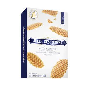 Biscuiterie Jules Destrooper - Gaufrettes belges au beurre