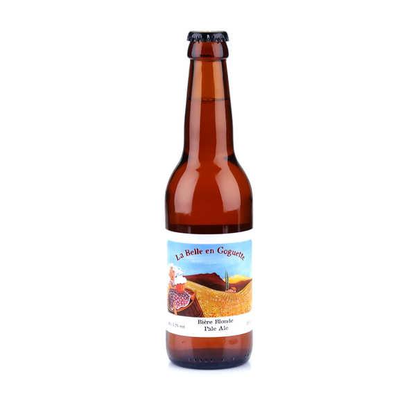 La belle en goguette - bière blonde du languedoc bio 5.2% - bouteille 33cl