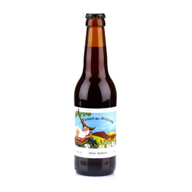 La Saison des Amours - Organic Amber Beer from France 5.6%