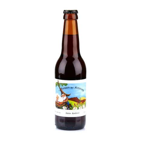 Brasserie des Garrigues - La Saison des Amours - bière ambrée du Languedoc bio 5.6%