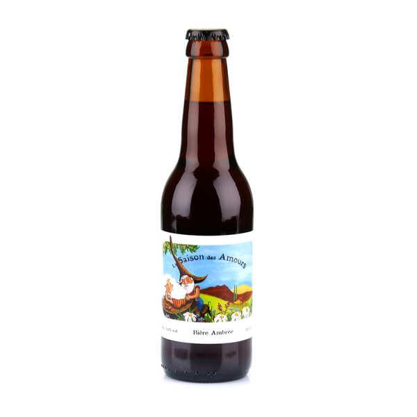 La saison des amours - bière ambrée du languedoc bio 5.6% - bouteille 33cl