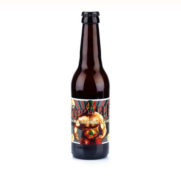 La frappadingue - bière ipa du languedoc bio 9.6% - bouteille 33cl