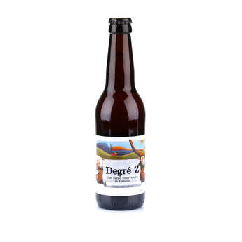 Brasserie des Garrigues - La degré Z - Organic Alcohol Free Lager Beer from France 0.7%