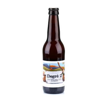 La Degré Z - bière blonde sans alcool du Languedoc bio 0.7%