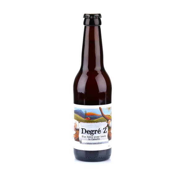 La degré z - bière blonde sans alcool du languedoc bio 0.7% - bouteille 33cl