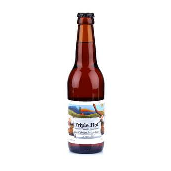 Brasserie des Garrigues - La Triple Hot - bière bio épicée gingembre piment poivre 5.9%