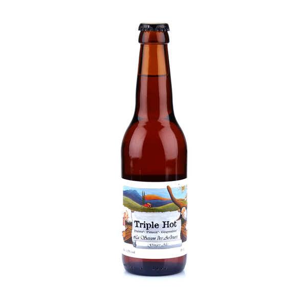 La Triple Hot - bière bio épicée gingembre piment poivre 5.9%
