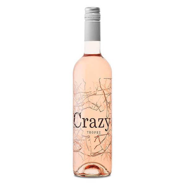 Crazy Tropez rosé - IGP vin de méditerranée 13%