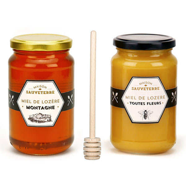 Maison Sauveterre Honeys Discovery Offer + 1 free honey spoon