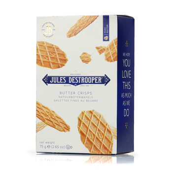 Biscuiterie Jules Destrooper - Butter crisp waffle biscuits