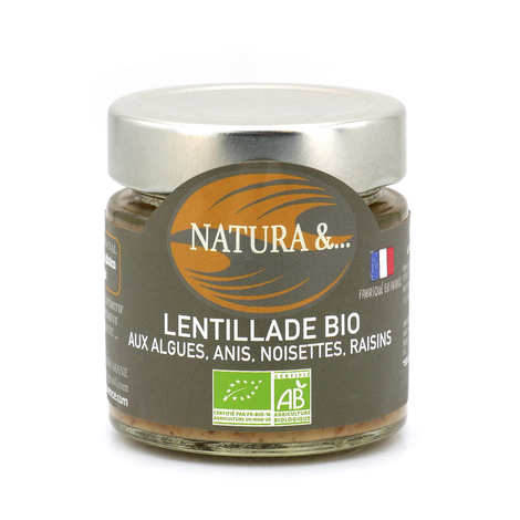 Pellegrain en Provence - Lentillade bio à tartiner - Lentilles germées, romarin, genièvre