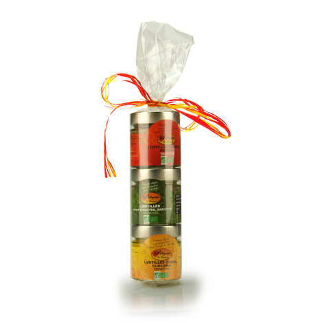 "Pellegrain en Provence - Assortment of 3 Organic ""Toastinettes"" To Spread"
