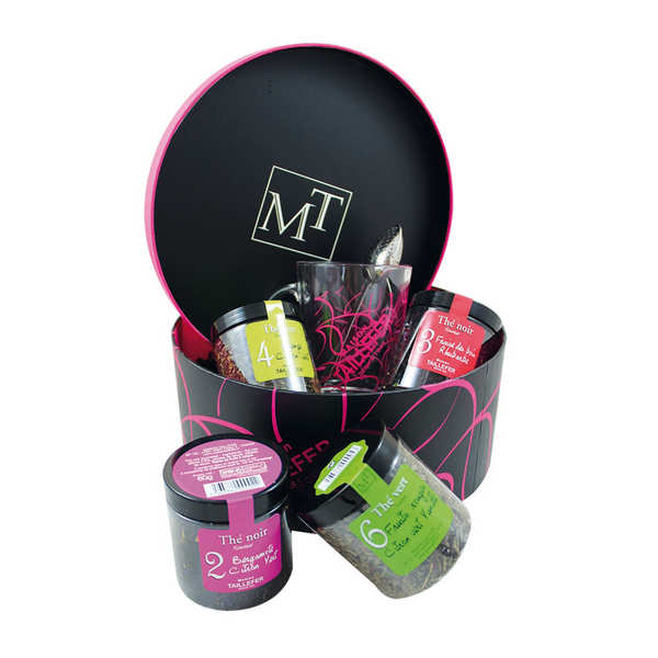 Round Gift Box Tea Time  by Maison Taillefer