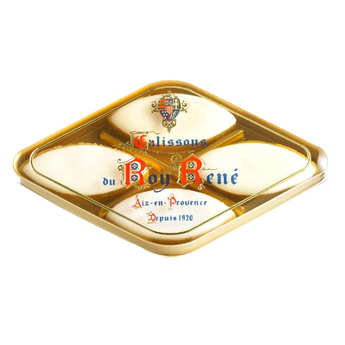 Le Roy René - Calissons d'Aix Roy René - boîte losange 4 calissons