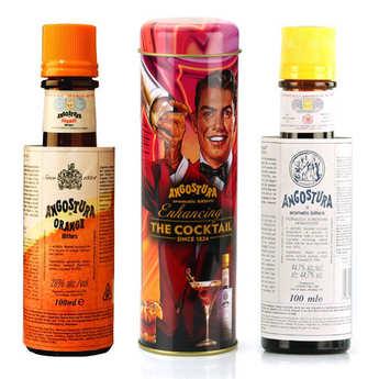 Angostura - Pack Angostura pour cocktails avec la boîte en métal offerte