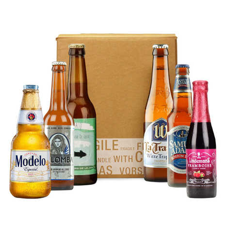 - Box découverte de 6 bières de l'été (juillet)