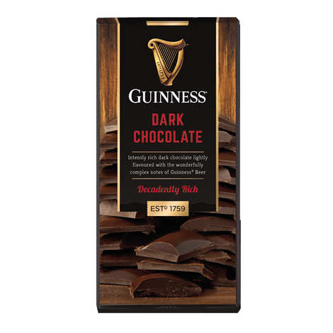 Brasserie Guinness - Tablette de chocolat à l'arôme de Guinness