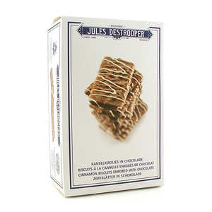 Biscuiterie Jules Destrooper - Chocolate Covered Cinnamon Biscuits