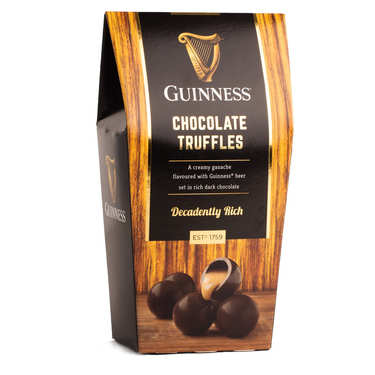 Guiness cream-filled chocolates