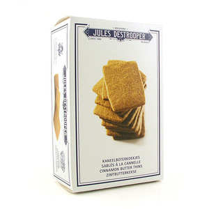Biscuiterie Jules Destrooper - Cinnamon butter thins