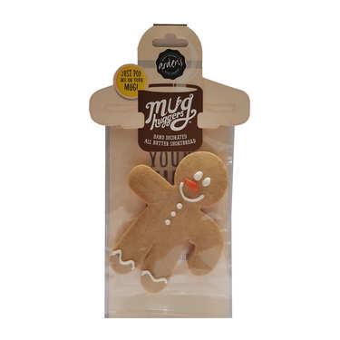 Iced Gingerbread Santa Man Mug Hugger